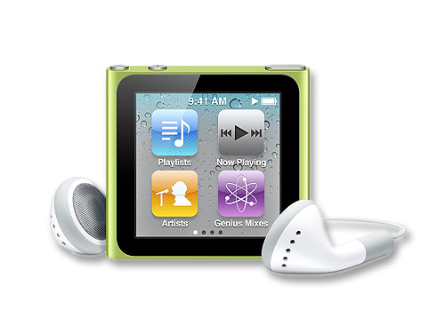 Apple iPod nano 8GB MC690J/A(グリーン)