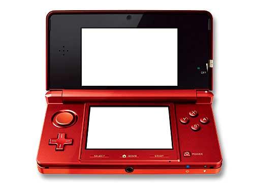 Nintendo ニンテンドー3DS(フレアレッド…