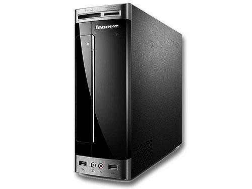 Lenovo H310「デスクトップパソコン」76971JJ(ブラック)