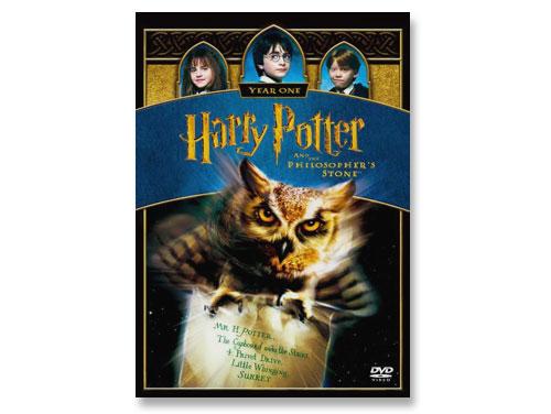 ハリー・ポッターと賢者の石 DVD(中古品)*