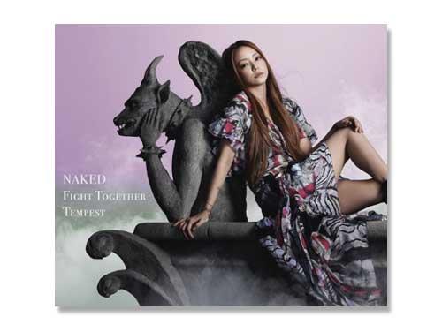 NAKED / Fight Together / Tempest (DVD付)安室奈美恵(中古品)*