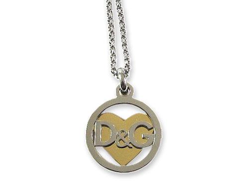 D&G Jewels Preppy「ハートロゴネッ…