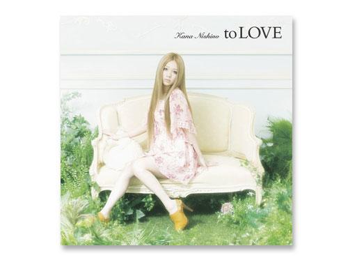 to LOVE(通常盤) /西野カナ(中古品)*