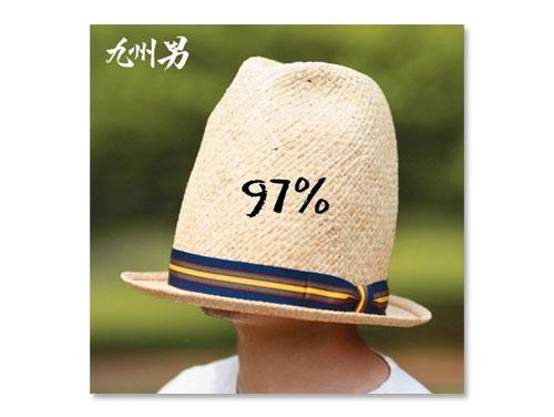 97%(通常盤) / 九州男*