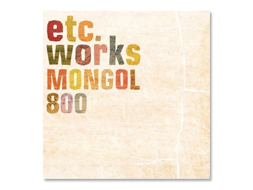 etc works / MONGOL800(中古品…