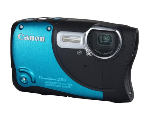 Canon PowerShot D20*