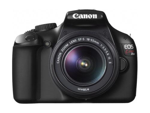 Canon EOS Kiss X50 EF-S 18-55 IS II レンズキット ブラック*