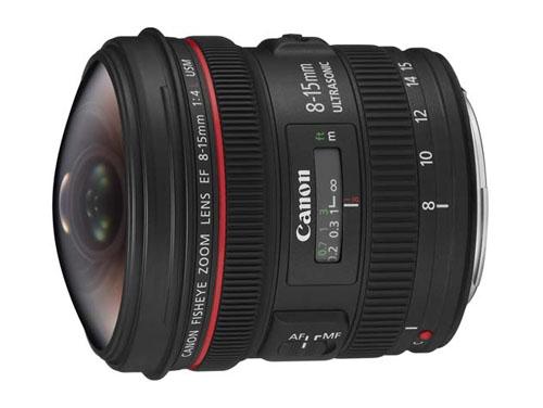 Canon EF8-15mm F4L フィッシュア…