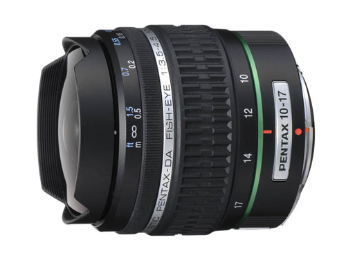 PENTAX DA FISH-EYE 10-17m…