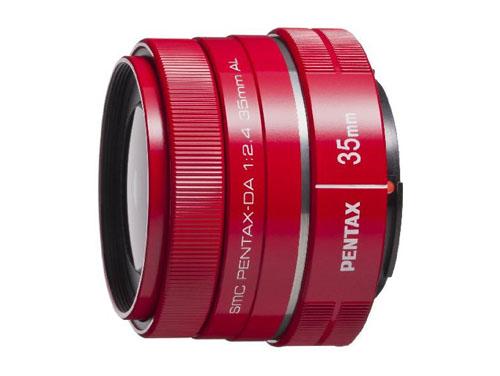 PENTAX DA35mmF2.4AL レッド*