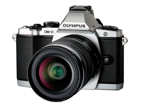 OLYMPUS OM-D E-M5 レンズキット シルバー*