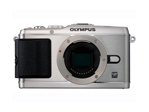 OLYMPUS PEN E-P3 ボディ シルバー…