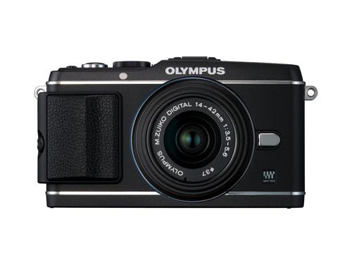 OLYMPUS PEN E-P3 レンズキット ブ…