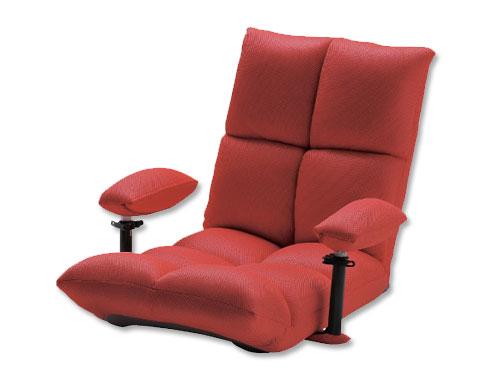 ATEX「腹筋!座いす」AX-HC151rd(レッ…