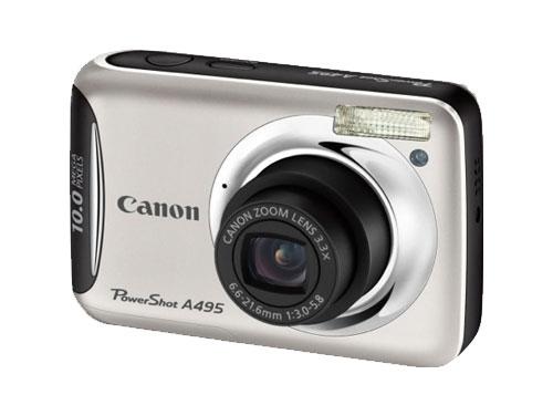Canon PowerShot A495 シルバー
