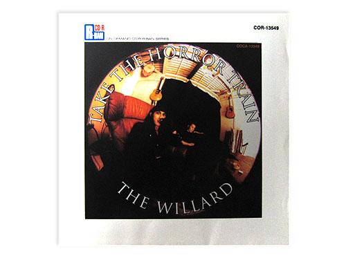 TAKE THE HORROR TRAIN(R-BAN)[限定CD]/THE WILLARD