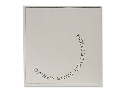 DAWNY SONG COLLECTION 3rd demo[デモCDR]/cinema staff
