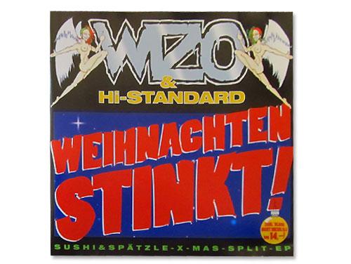 Weihnachten Stinkt!/WAR IS OVER[ドイツ限定盤]/WIZO / Hi-…