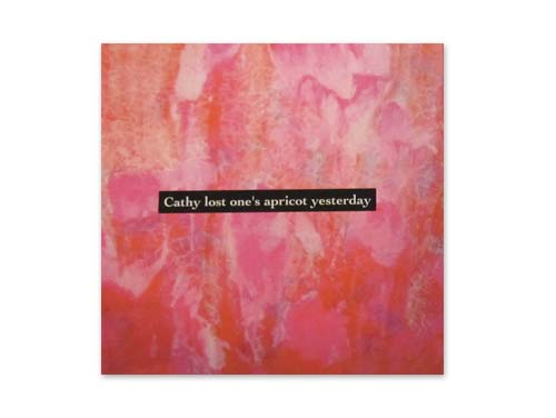 1st demo[自主制作CD]/cathy lost one's apricot yesterday