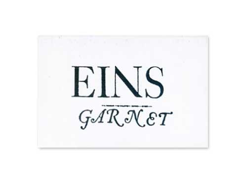EINS[デモテープ]/GARNET(清春)