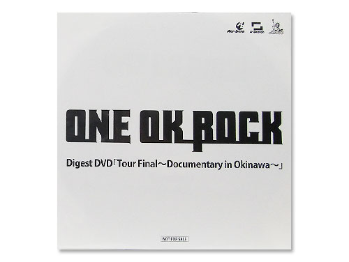 Digest DVD「Tour Final~Documentary in Okinawa~」[購入特典DVD]/ONE OK ROCK(ワンオクロック)