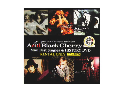 Acid Black Cherry Mini Best Singles & HISTORY DVD[…