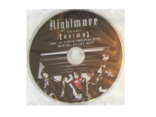 「livEVIL」PV OFF SHOT[購入特典DVD]/NIGHTMARE(ナイトメア)