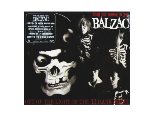 OUT OF THE LIGHT OF THE 13 DARK NIGHT[廃盤]/BALZAC