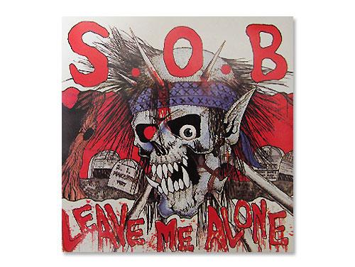 LEAVE ME ALONE 90年盤[廃盤]/S.O.B