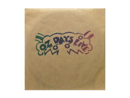 OZ DAYS LIVE (CD)[廃盤]/オムニバス(裸のラリーズ、アシッド・セブン、都落ち、タジマハール旅行団、南正人)