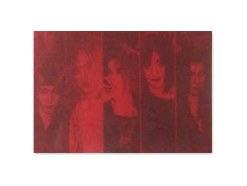 DANCE VISION 赤ジャケット盤[デモテープ]/GLAY