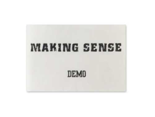 DEMO[自主制作デモテープ]/MAKING SENSE