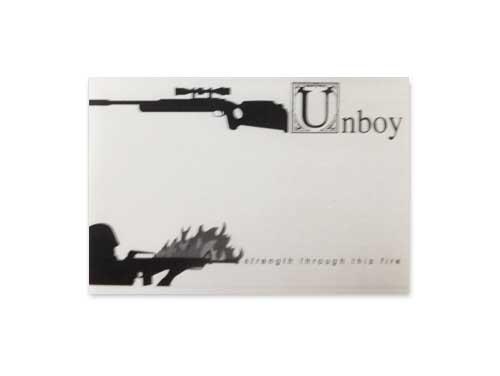 4 songs demo[自主制作デモテープ]/Unboy