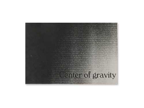 demo[自主制作デモテープ]/Center of gravity