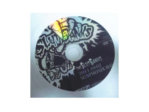2011.10.02 YOKOHAMA SUNPHONIX HALL MOSH IT UP!! edition[会場配布限定DVD]/THE SLUT BANKS