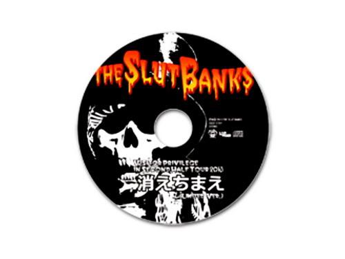 消えちまえ(LIMITED VER.)[限定CD]/THE SLUT BANKS