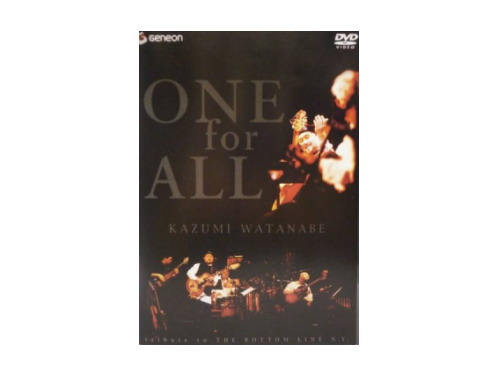 ONE for ALL tribute to THE BOTTOM LINE N.Y.[廃盤DVD]…