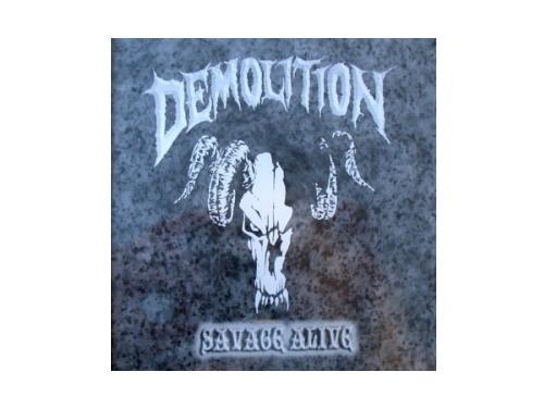 SAVAGE ALIVE[廃盤]/DEMOLITION
