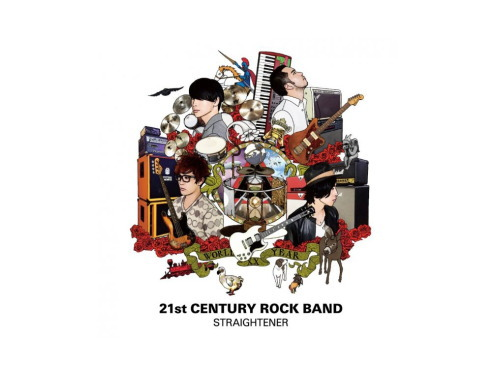 21st CENTURY ROCK BAND 初回盤[限定CD]/ストレイテナー