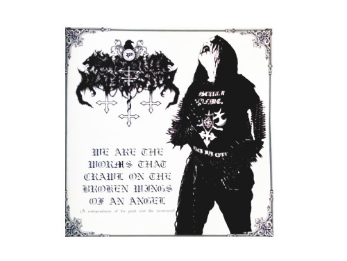 We Are the Worms that Crawl on the Broken Wings of an Angel[自主制作CDR]/SATANIC WARMASTER