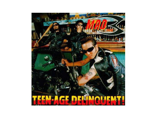 TEEN-AGE DELINQUENT![廃盤…