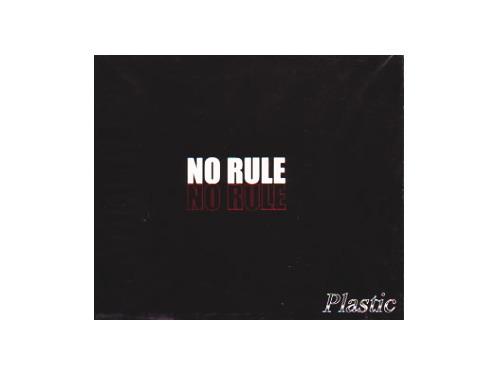 NO RULE 黒ジャケット盤[限定CD]/Plastic
