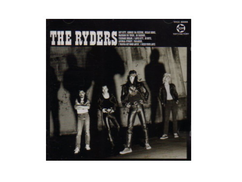 THE RYDERS 88年盤[廃盤]/THE RYDERS