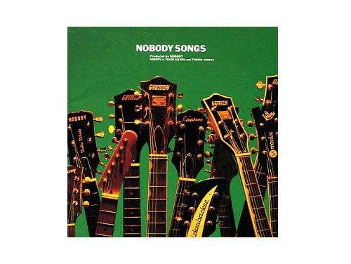 NOBODY SONGS 初回盤[限定CD]/NOBODY