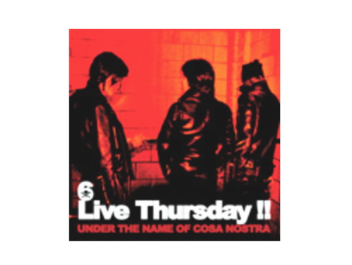 Live Thursday!! UNDER THE NAME OF COSA NOSTRA[限定CD…