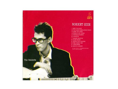 ROKKET SIZE 84年盤[廃盤]/THE ROKKETS(SHEENA & THE ROKKETS)