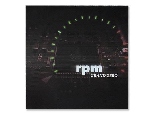 rpm[廃盤]/GRAND ZERO