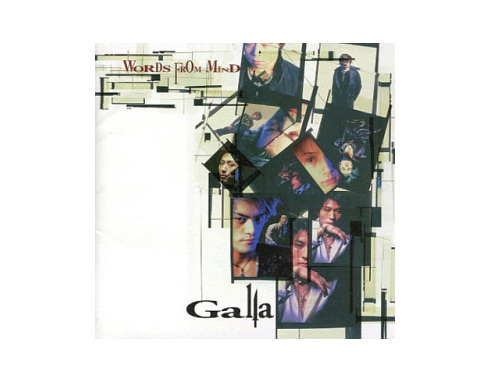 WORDS FROM MIND[廃盤]/Galla